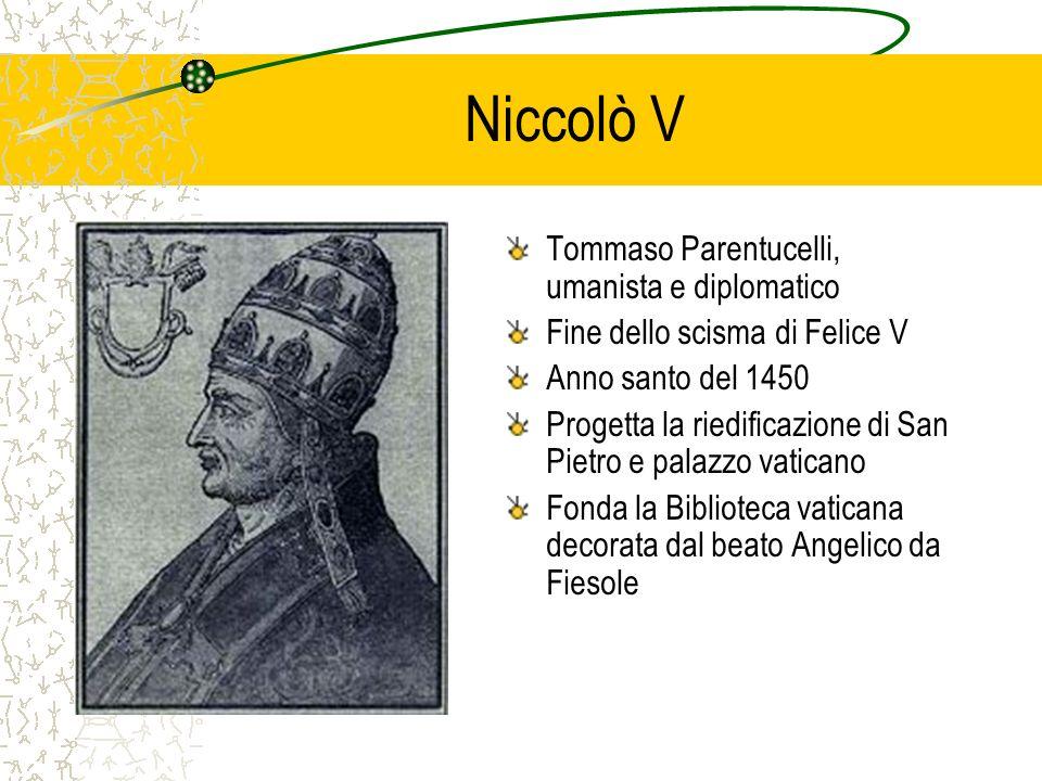 Niccolò V Tommaso Parentucelli, umanista e diplomatico