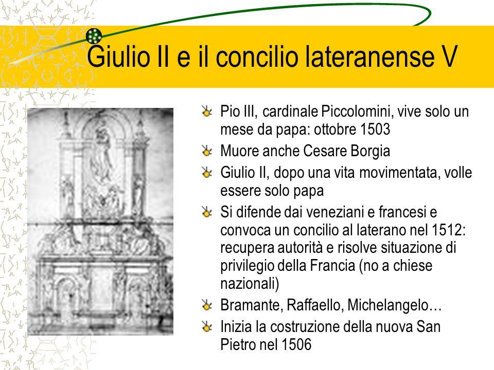 Giulio II e il concilio lateranense V