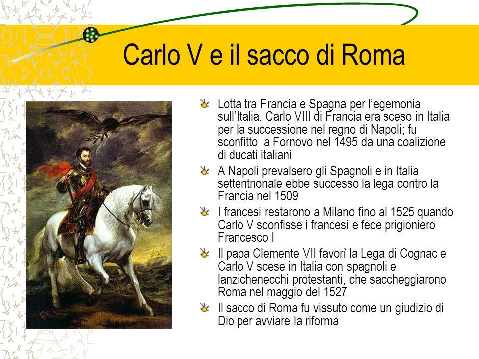 Carlo V e il sacco di Roma