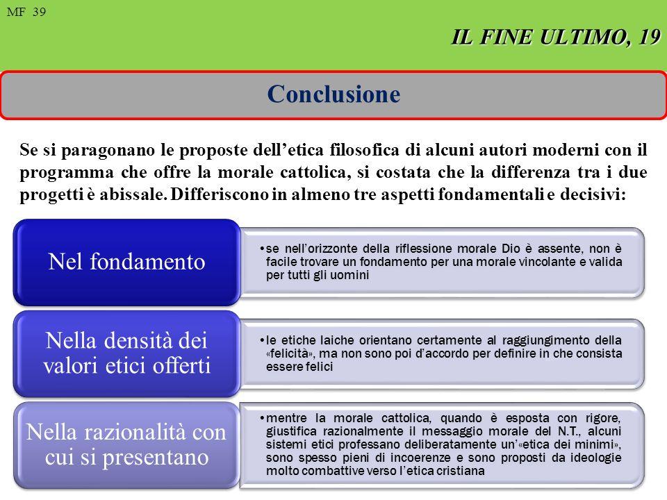 Conclusione IL FINE ULTIMO, 19 FIN ULTIMO, 8