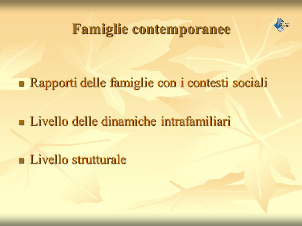 Famiglie contemporanee