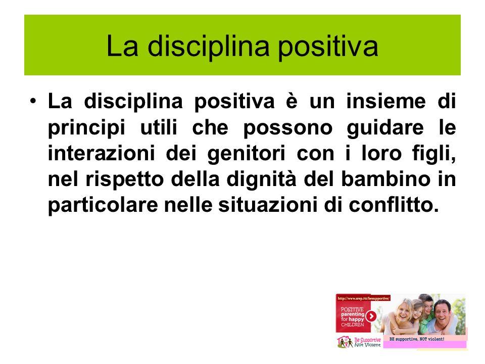 La disciplina positiva