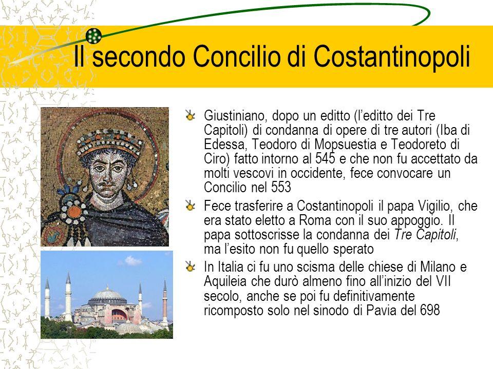 Il secondo Concilio di Costantinopoli