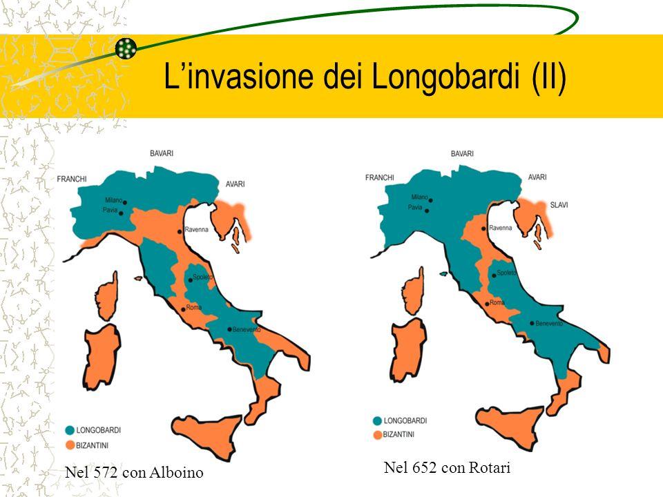 L'invasione dei Longobardi (II)