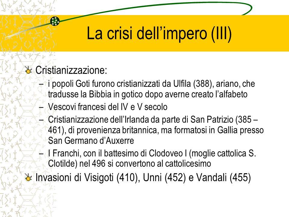 La crisi dell'impero (III)