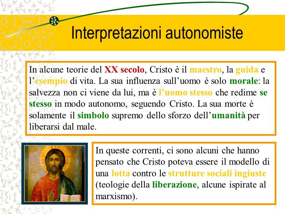 Interpretazioni autonomiste