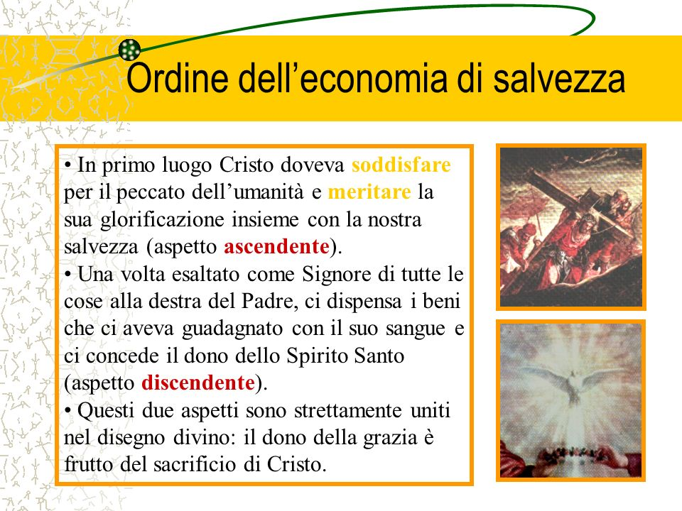 Ordine dell'economia di salvezza