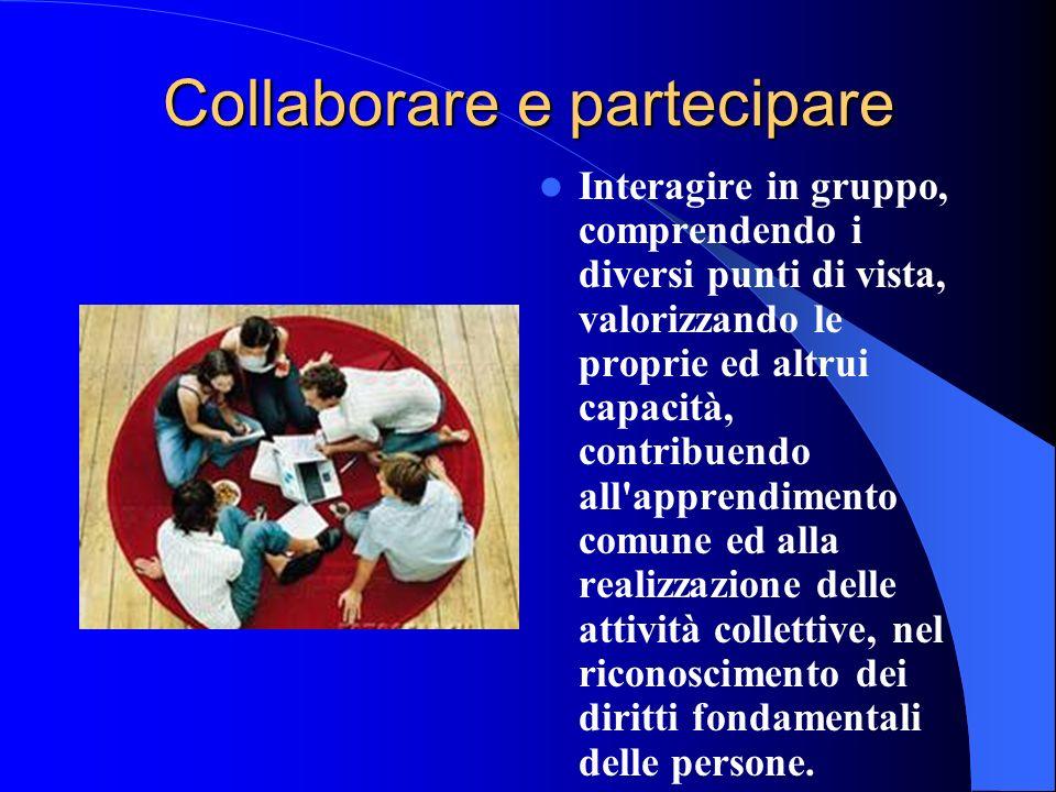 Collaborare e partecipare