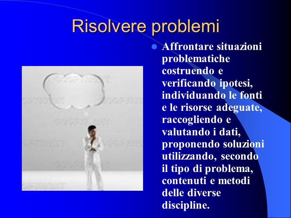 Risolvere problemi