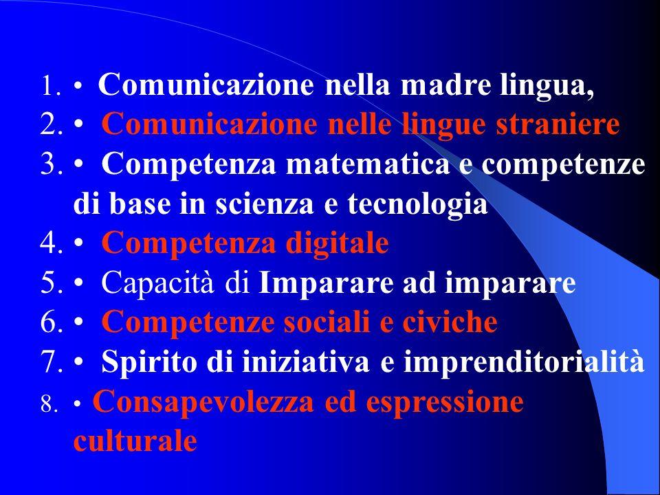 • Comunicazione nelle lingue straniere