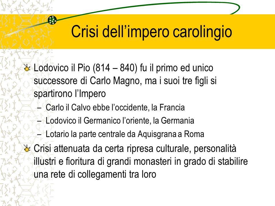 Crisi dell'impero carolingio