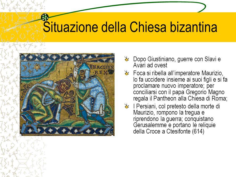 Situazione della Chiesa bizantina