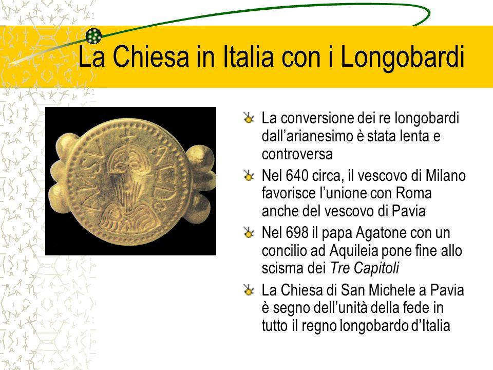 La Chiesa in Italia con i Longobardi