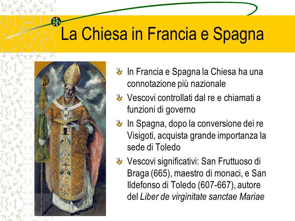 La Chiesa in Francia e Spagna