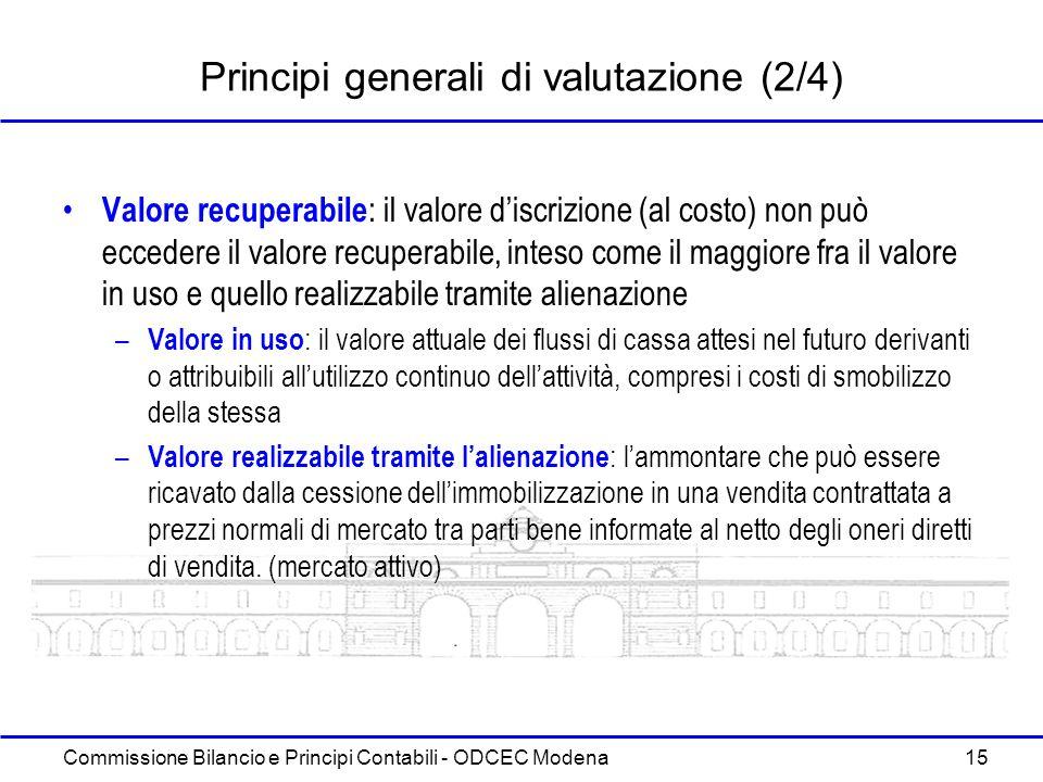 Principi generali di valutazione (2/4)