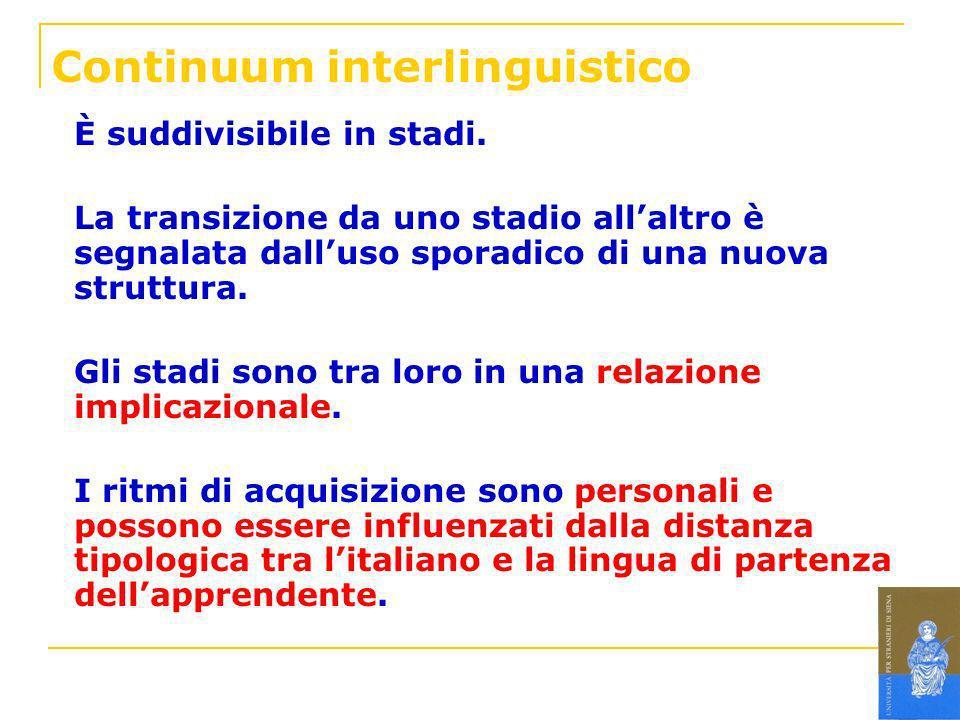 Continuum interlinguistico