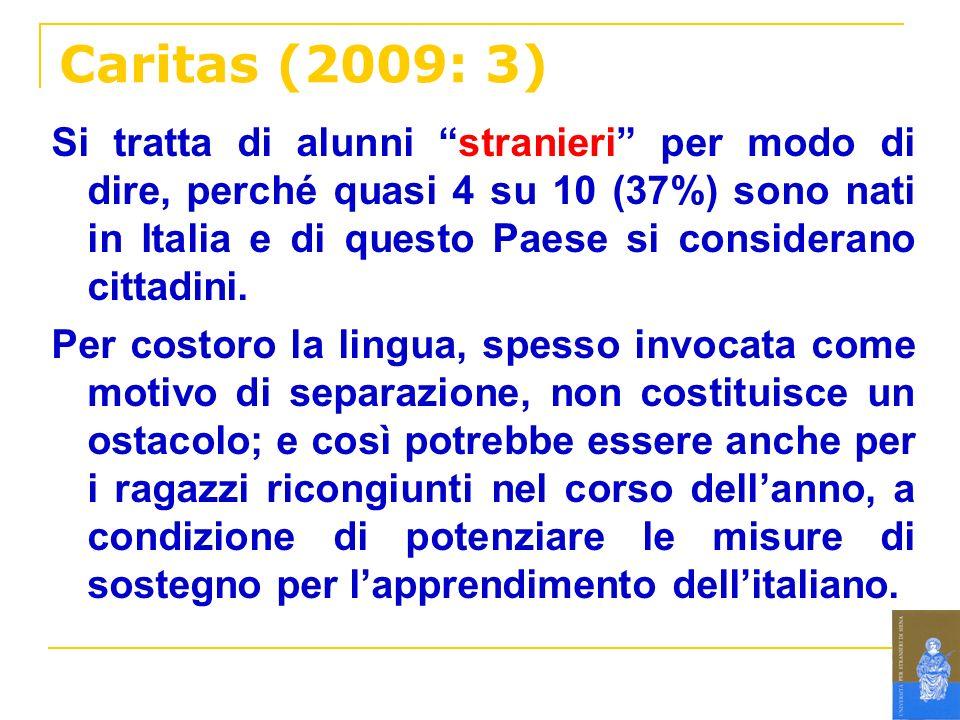 Caritas (2009: 3)