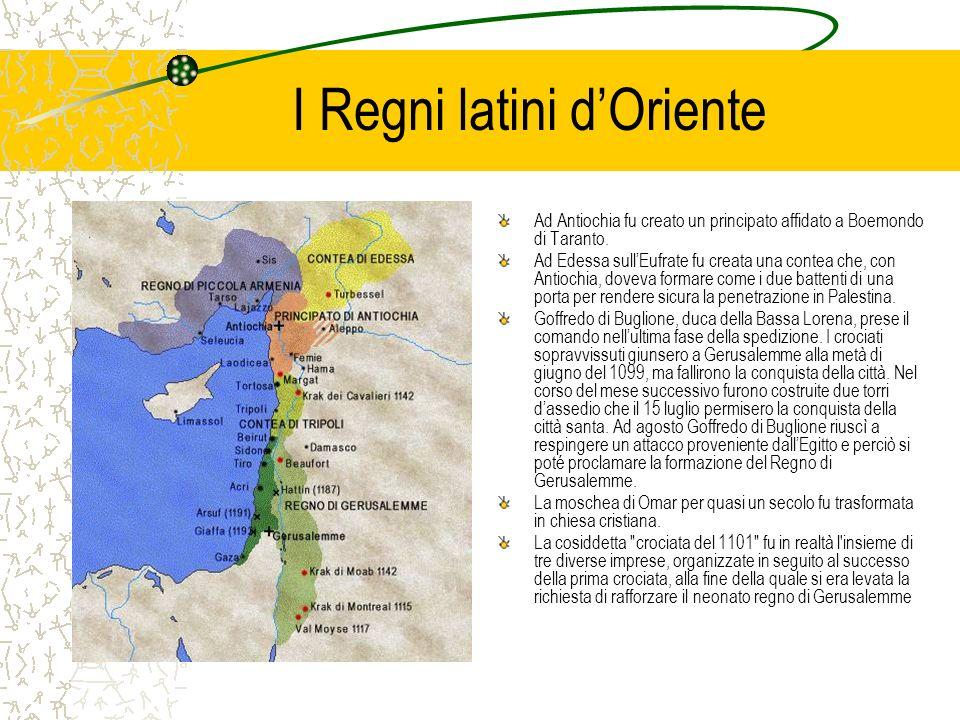 I Regni latini d'Oriente
