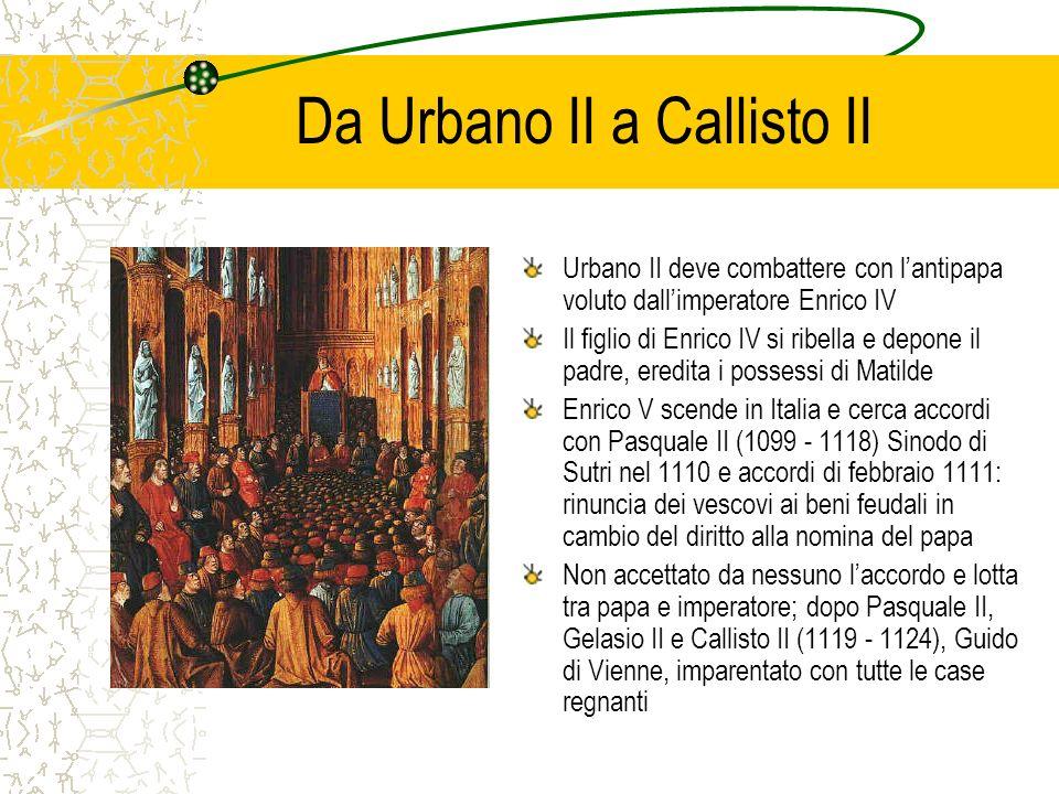 Da Urbano II a Callisto II