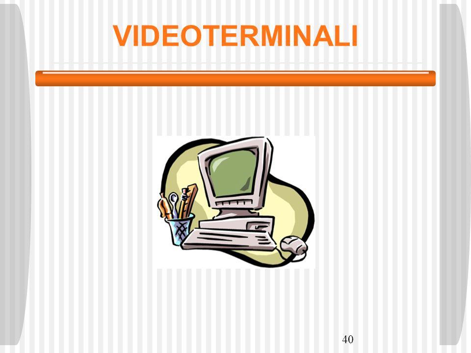 VIDEOTERMINALI 40