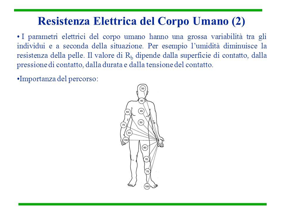 Resistenza Elettrica del Corpo Umano (2)