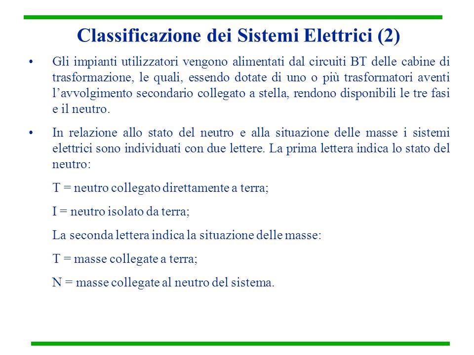 Classificazione dei Sistemi Elettrici (2)