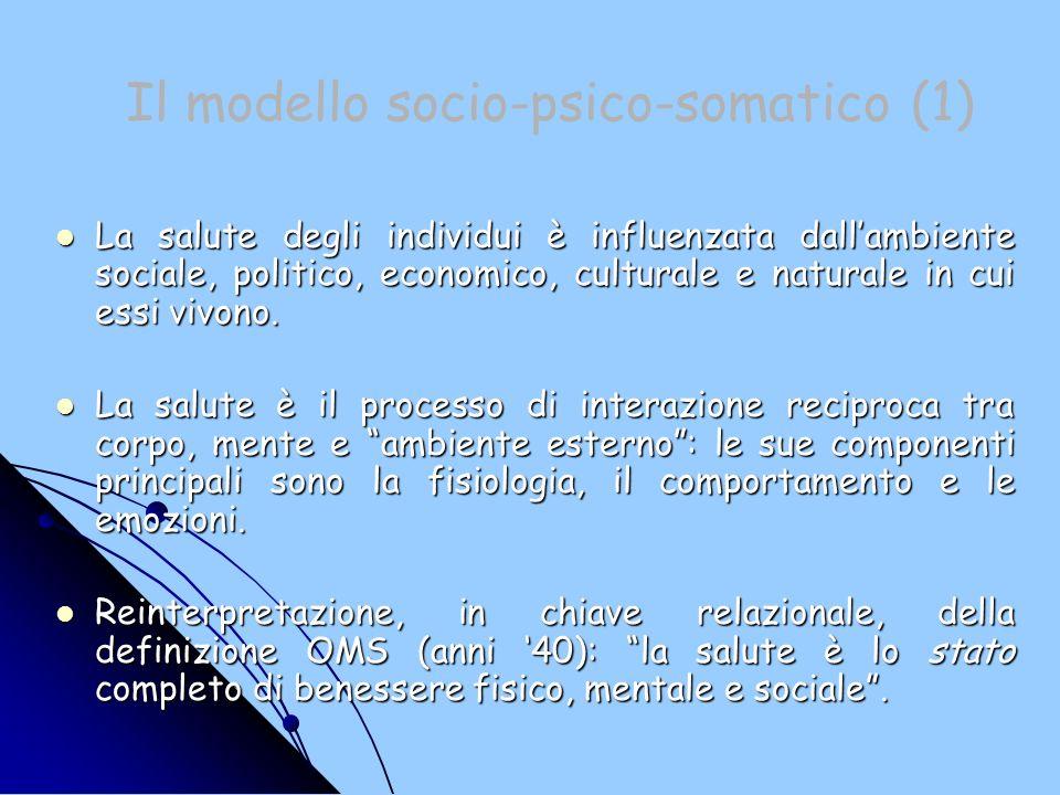 Il modello socio-psico-somatico (1)