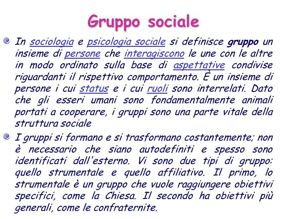 Gruppo sociale