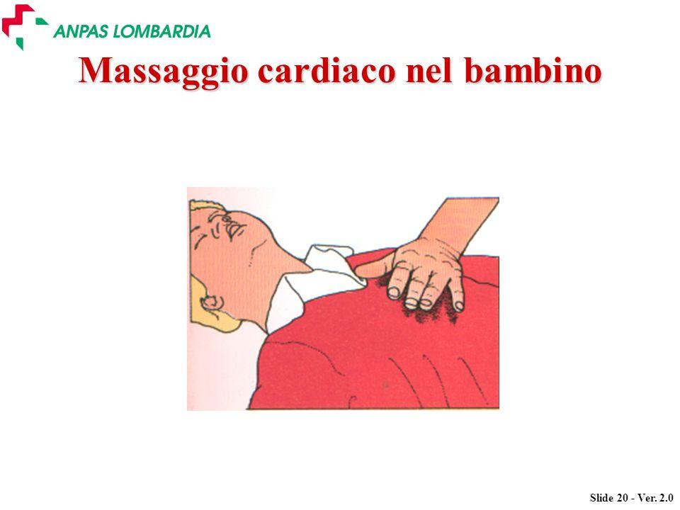 Massaggio cardiaco nel bambino