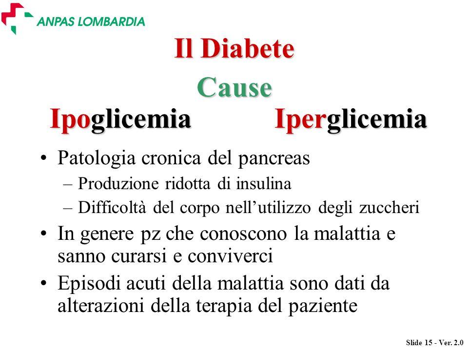 Il Diabete Cause Ipoglicemia Iperglicemia