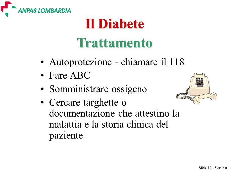 Il Diabete Trattamento
