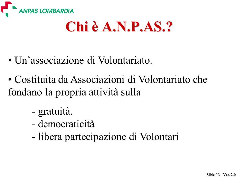 Chi è A.N.P.AS. Un'associazione di Volontariato.