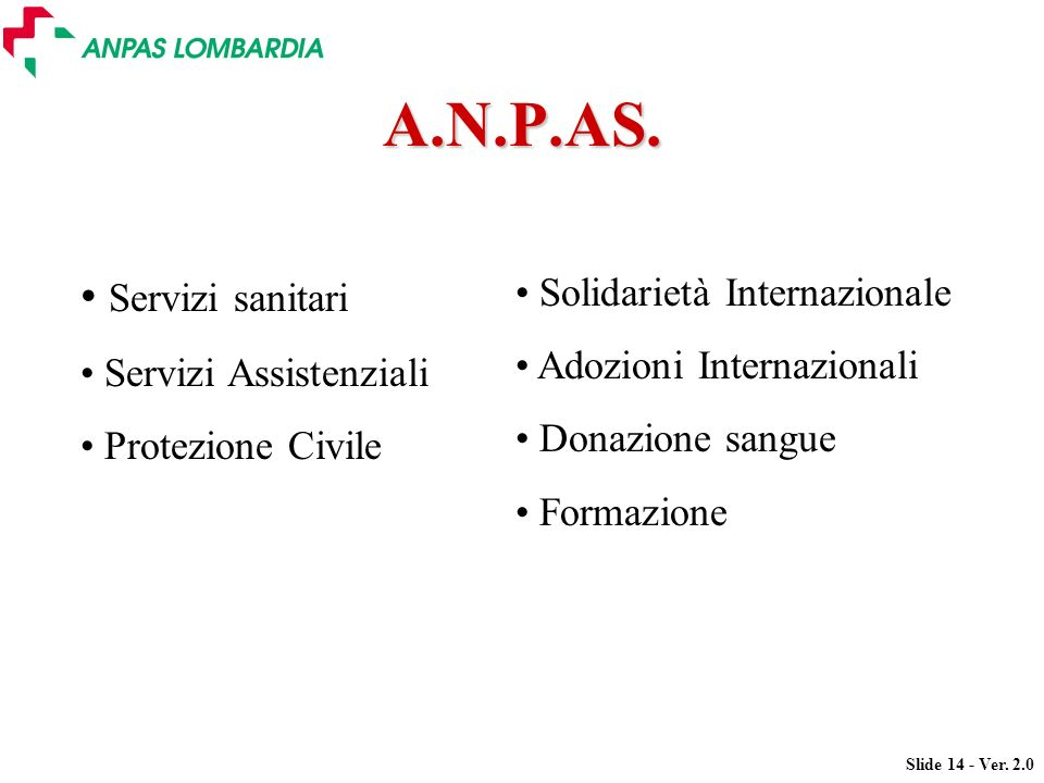 A.N.P.AS. Servizi sanitari Solidarietà Internazionale