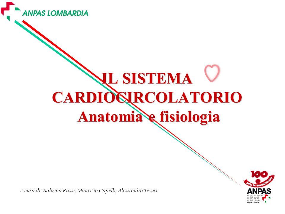 IL SISTEMA CARDIOCIRCOLATORIO Anatomia e fisiologia