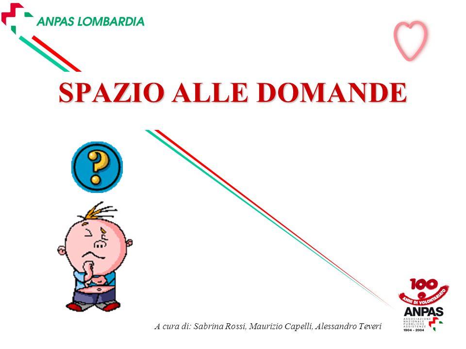 A cura di: Sabrina Rossi, Maurizio Capelli, Alessandro Teveri
