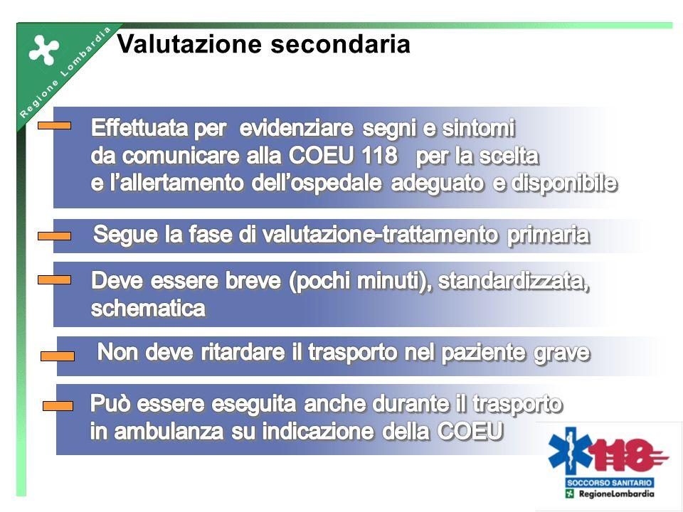 Valutazione secondaria
