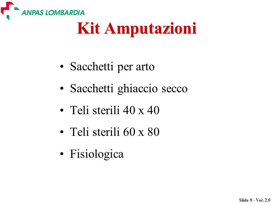Kit Amputazioni Sacchetti per arto Sacchetti ghiaccio secco
