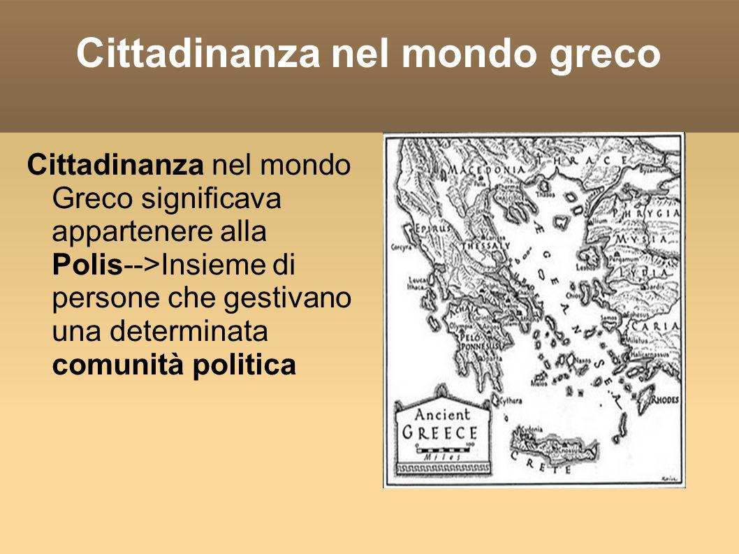 Cittadinanza nel mondo greco