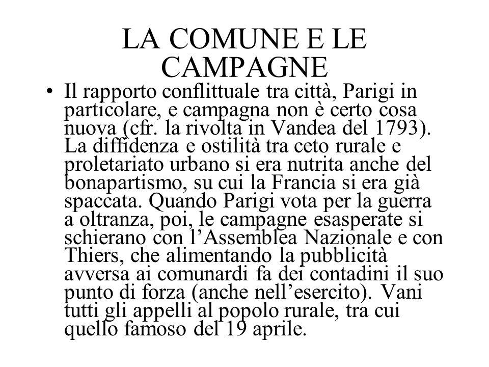 LA COMUNE E LE CAMPAGNE