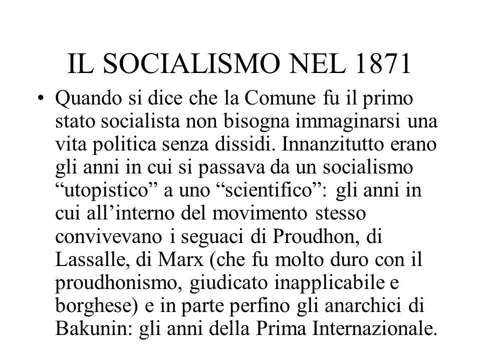 IL SOCIALISMO NEL 1871