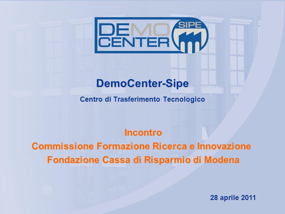 DemoCenter-Sipe Centro di Trasferimento Tecnologico