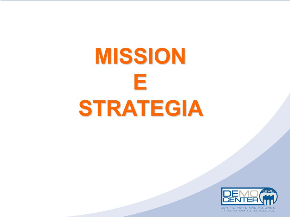 MISSION E STRATEGIA 6