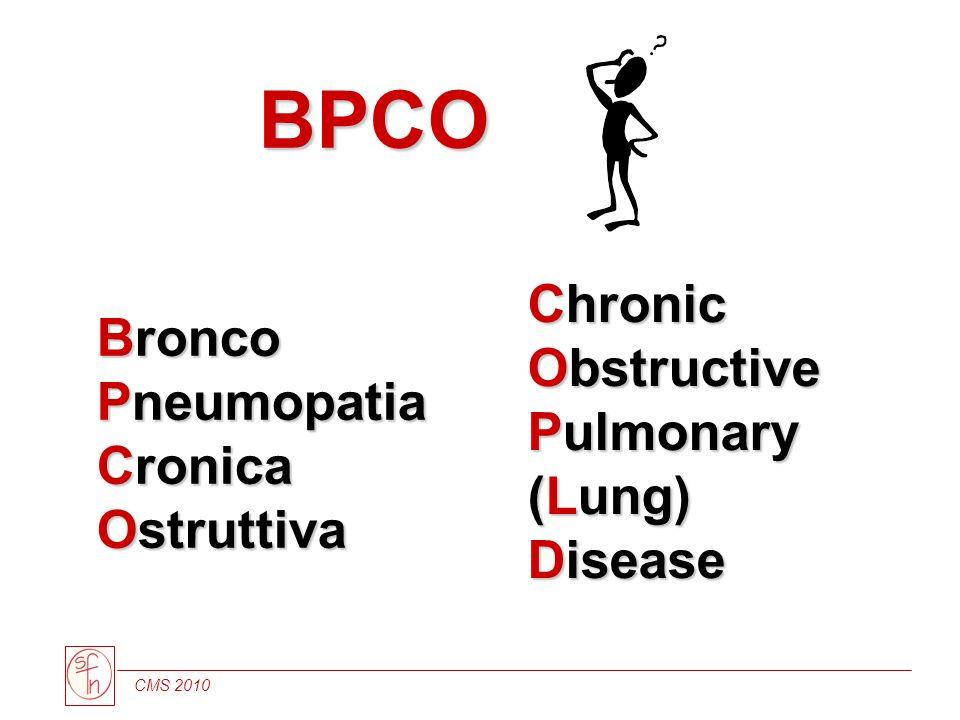 BPCO Bronco Pneumopatia Cronica Ostruttiva