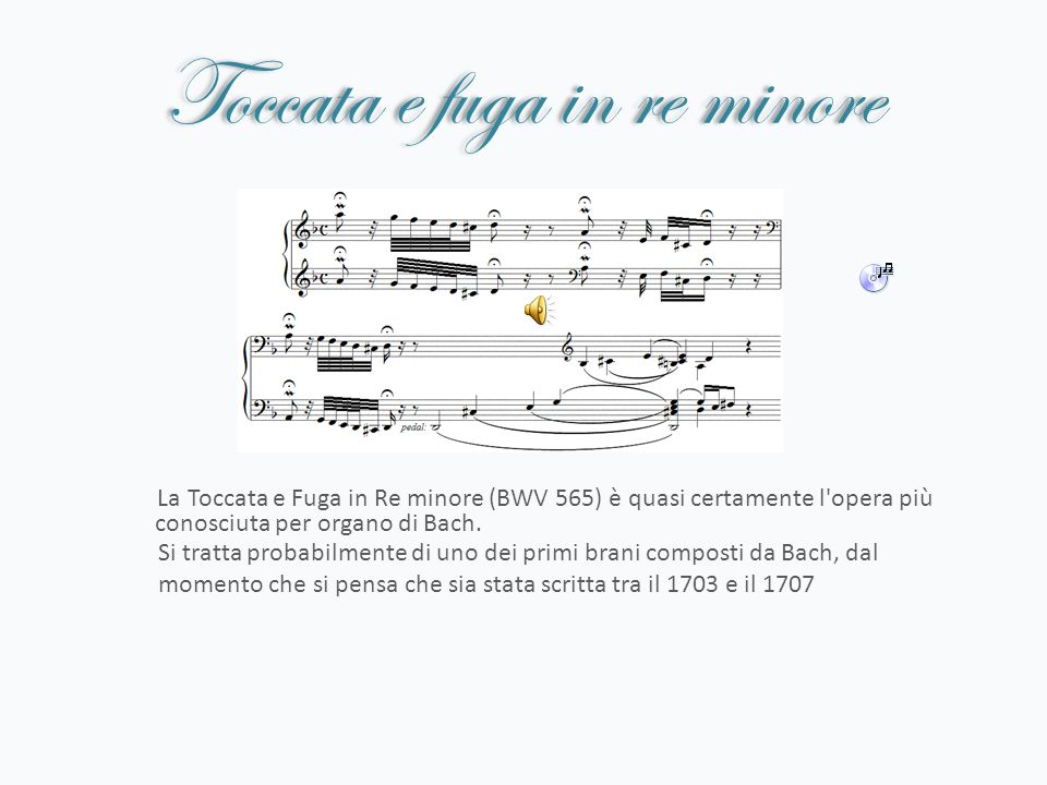 Toccata e fuga in re minore
