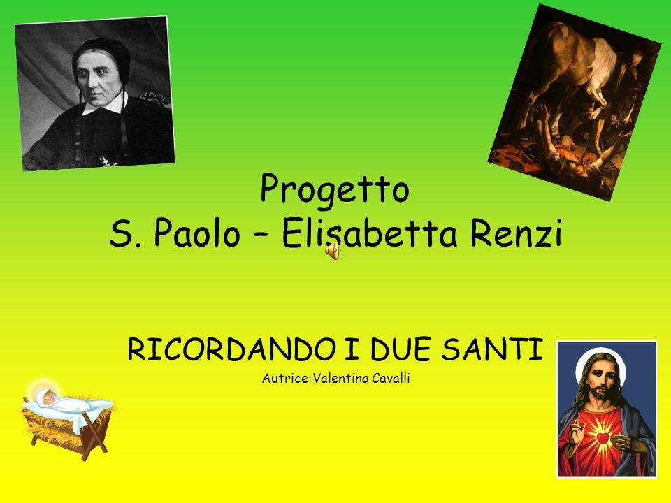 Progetto S. Paolo – Elisabetta Renzi