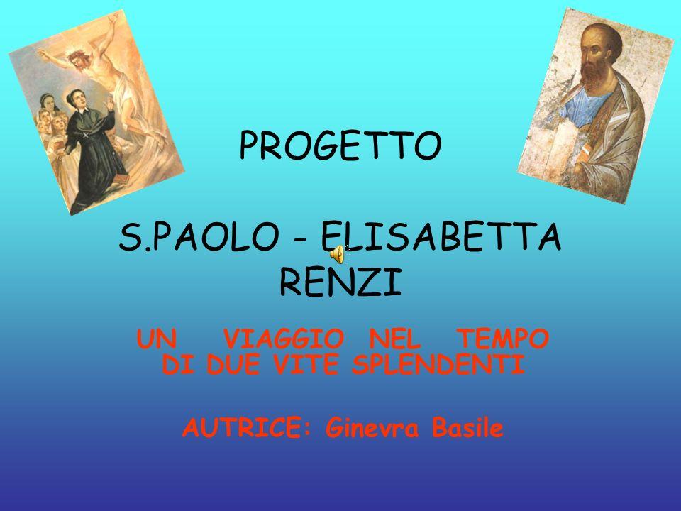PROGETTO S.PAOLO - ELISABETTA RENZI