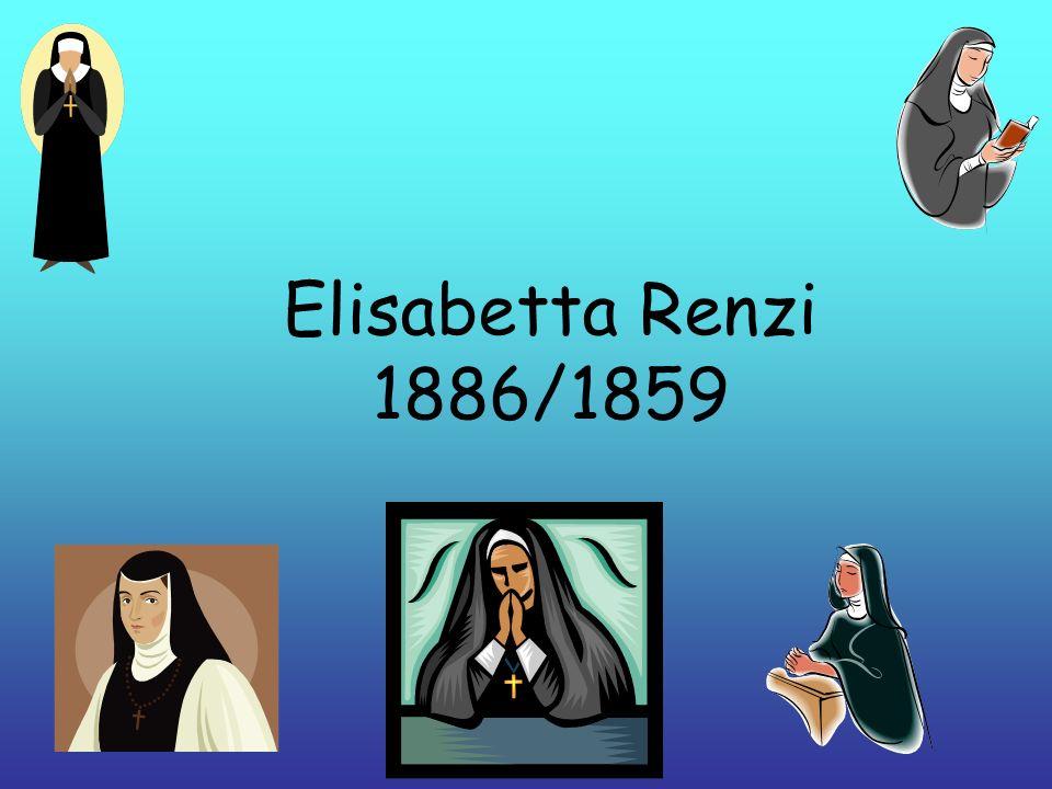 Elisabetta Renzi 1886/1859