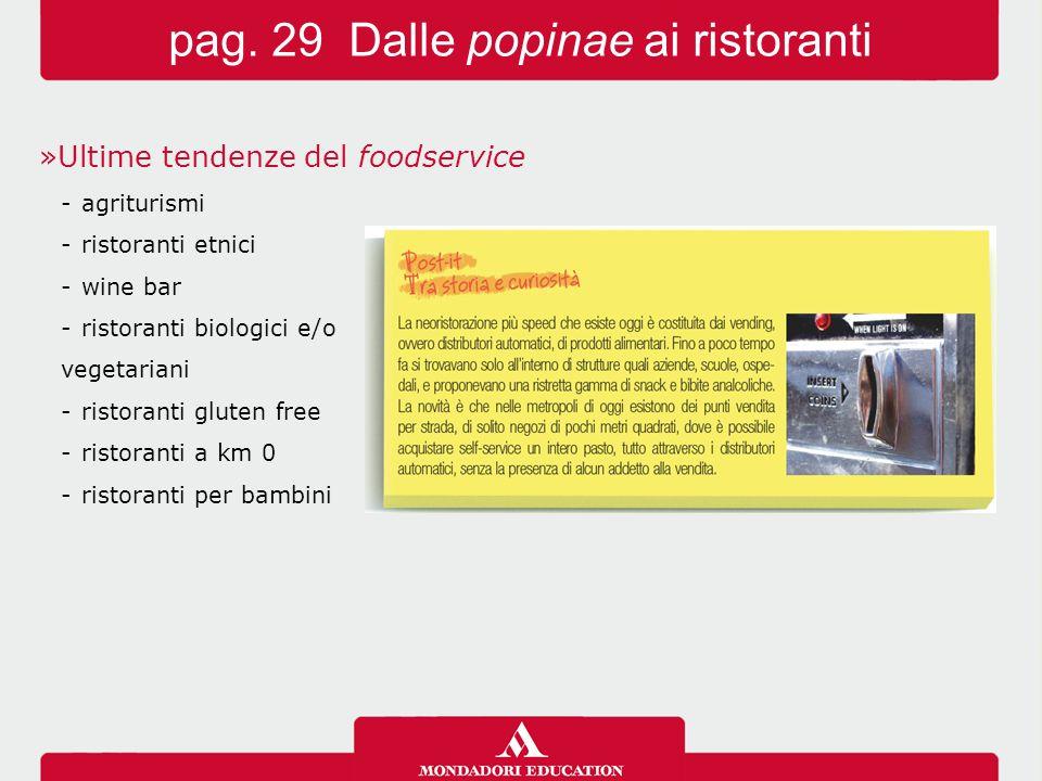 pag. 29 Dalle popinae ai ristoranti
