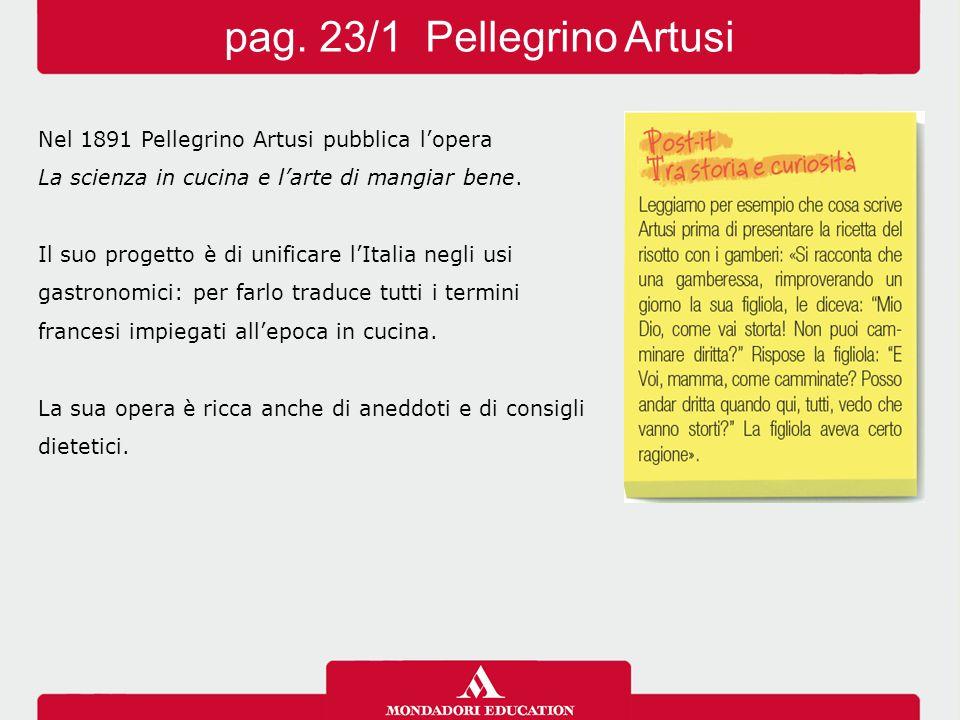 pag. 23/1 Pellegrino Artusi