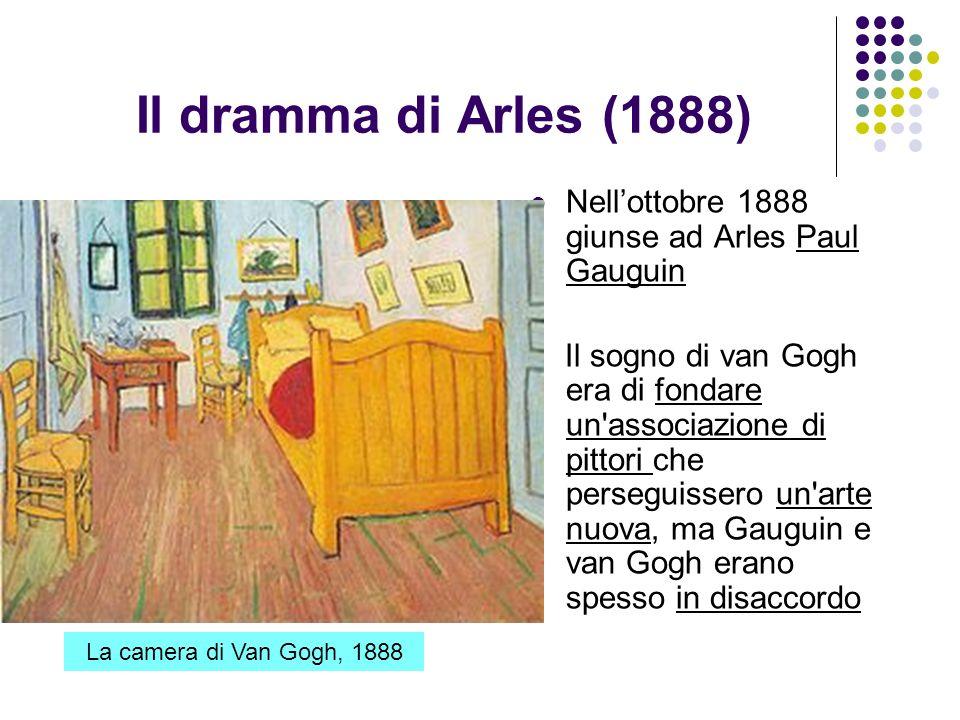 Il dramma di Arles (1888) Nell'ottobre 1888 giunse ad Arles Paul Gauguin.